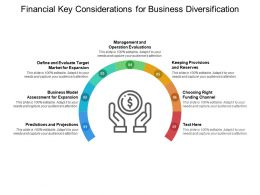 Financial Key Considerations For Business Diversification