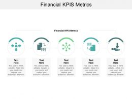 Financial KPIS Metrics Ppt Powerpoint Presentation Outline Slide Cpb
