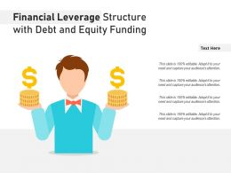 Financial Leverage Structure With Debt And Equity Funding