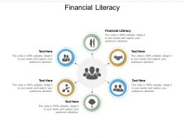 Financial Literacy Ppt Powerpoint Presentation Outline Slide Download Cpb