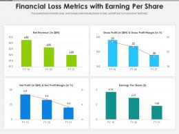 Financial Loss Metrics With Earning Per Share