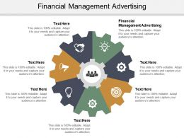 Financial Management Advertising Ppt Powerpoint Presentation Icon Portfolio Cpb