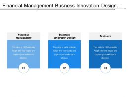 Financial Management Business Innovation Design Service Excellence Technology Innovation