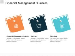 Financial Management Business Ppt Powerpoint Presentation Model Example Cpb