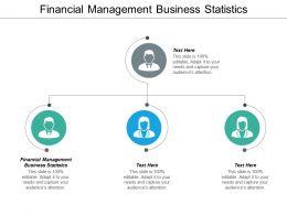 Financial Management Business Statistics Ppt Powerpoint Presentation Ideas Graphics Cpb