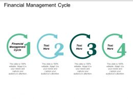 Financial Management Cycle Ppt Powerpoint Presentation Gallery Microsoft Cpb