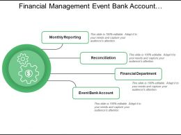 Financial Management Event Bank Account Monthly Reporting