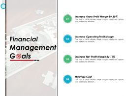 Financial Management Goals Ppt Powerpoint Presentation File Themes