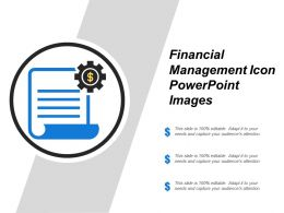 Financial Management Icon Powerpoint Images