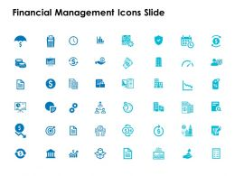 Financial Management Icons Slide Ppt Powerpoint Presentation File Diagrams