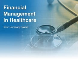 Financial Management In Healthcare Powerpoint Presentation Slides