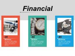 Financial Management Investment Analysis Minimum Medium Maximum