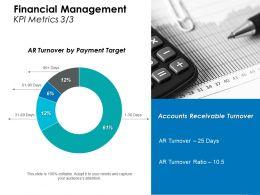 Financial Management Kpi Metrics 3 3 Ppt Layouts Diagrams