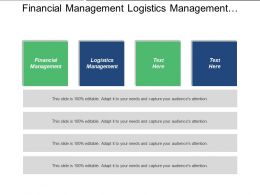 Financial Management Logistics Management Control Structure Strategic Plans Cpb