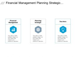 Financial Management Planning Strategic Leadership Training Knowledge Management Cpb