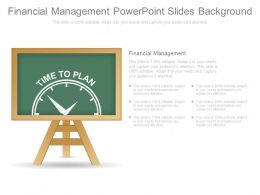 Financial Management Powerpoint Slides Background