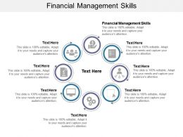 Financial Management Skills Ppt Powerpoint Presentation Show Ideas Cpb