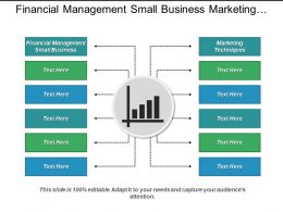Financial Management Small Business Marketing Techniques Sales Management Cpb