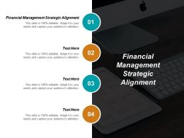 Financial Management Strategic Alignment Ppt Powerpoint Presentation Infographics Examples Cpb
