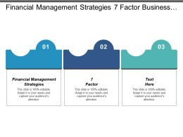 Financial Management Strategies 7 Factor Business Valuation Tool Cpb