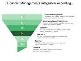 Financial Managements Integration According Guidelines Medium Size Enterprises