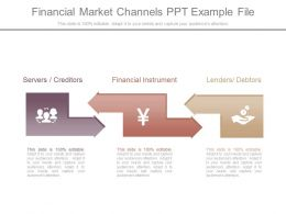 Financial Market Channels Ppt Example File