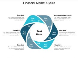 Financial Market Cycles Ppt Powerpoint Presentation Icon Influencers Cpb