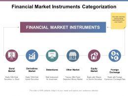 Financial Market Instruments Categorization Ppt Powerpoint Presentation File