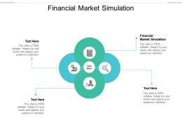 Financial Market Simulation Ppt Powerpoint Presentation Show Sample Cpb