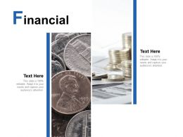 Financial Marketing Analysis C86 Ppt Powerpoint Presentation Visual Aids Files