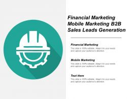 Financial Marketing Mobile Marketing B2b Sales Leads Generation Cpb