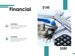 Financial Marketing Planning Ppt Powerpoint Presentation Portfolio Deck