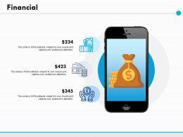 Financial Marketing Ppt Powerpoint Presentation File Deck