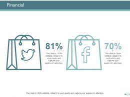Financial Marketing Ppt Powerpoint Presentation Ideas Icon