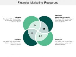 Financial Marketing Resources Ppt Powerpoint Presentation File Topics Cpb