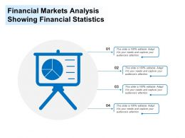Financial Markets Analysis Showing Financial Statistics