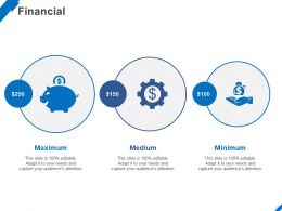 Financial Maximum C1410 Ppt Powerpoint Presentation Visual Aids Deck