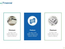 Financial Maximum C17 Ppt Powerpoint Presentation Gallery Pictures
