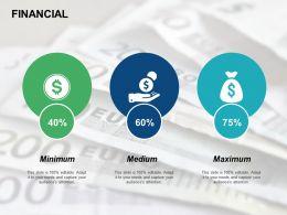 Financial Maximum Dollar F755 Ppt Powerpoint Presentation Pictures Deck