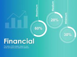 Financial Maximum Medium C310 Ppt Powerpoint Presentation Pictures Outline