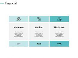 Financial Maximum Medium C525 Ppt Powerpoint Presentation Summary Skills