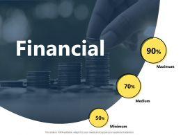 Financial Maximum Medium Minimum F60 Powerpoint Presentation Slides