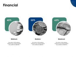 Financial Maximum Medium Minimum Ppt Powerpoint Presentation Gallery Slide Portrait