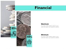 Financial Maximum Minimum A35 Ppt Powerpoint Presentation Portfolio Deck