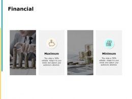 Financial Maximum Minimum F660 Ppt Powerpoint Presentation Pictures Clipart