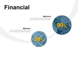 Financial Maximum Minimum Ppt Powerpoint Presentation Slides Background Designs