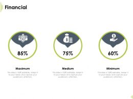 Financial Maximum Minimum Technology Stack Ppt Powerpoint Deck
