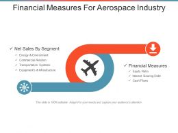 Financial Measures For Aerospace Industry Ppt Inspiration