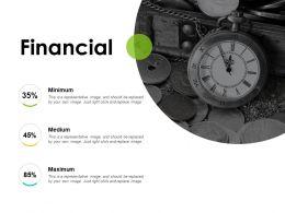 Financial Medium L781 Ppt Powerpoint Example Topics