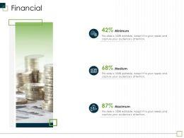 Financial Medium M2970 Ppt Powerpoint Presentation File Design Templates